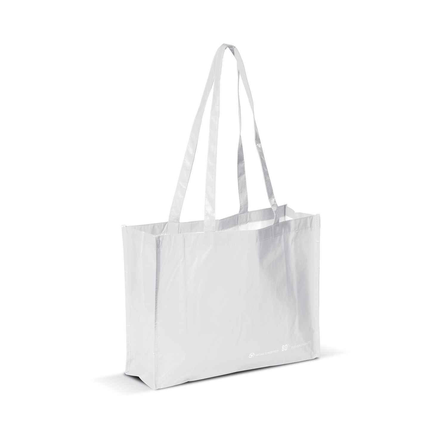 Witte Shopper | Gerecycled PET