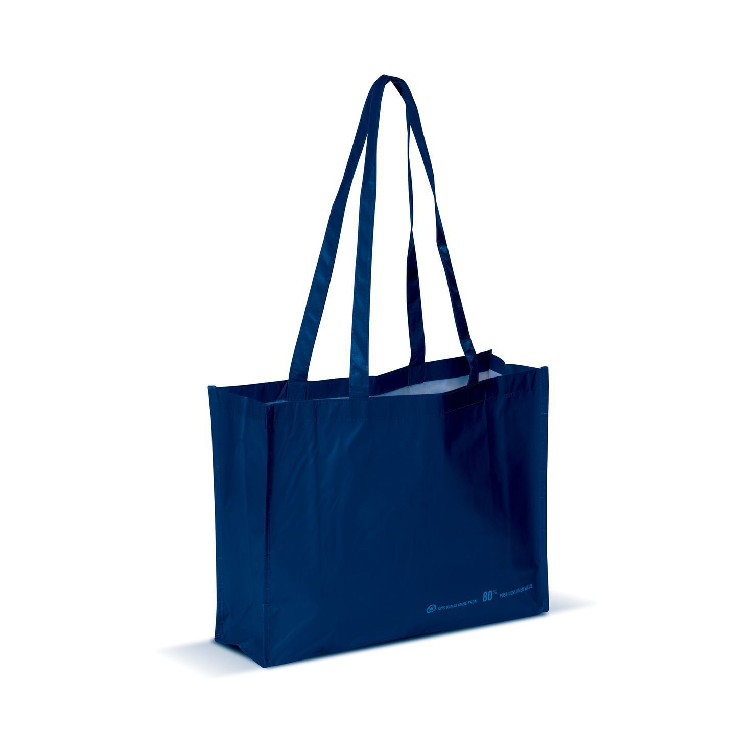 Donkerblauwe Shopper | Gerecycled PET