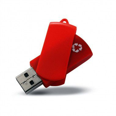 Rode USB stick gerecycled | 1GB